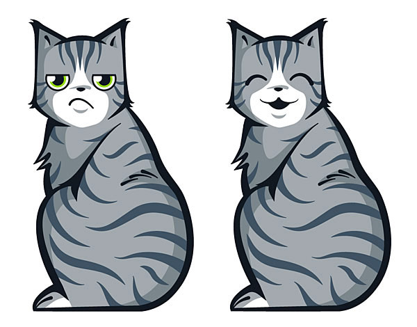 Cat Car Decals
