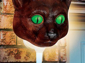 Cat Head Porch Light Cover