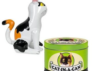 Cat-In-A-Can Inflatable Feline
