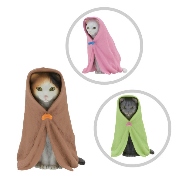 Cat in a Blanket Blind Box