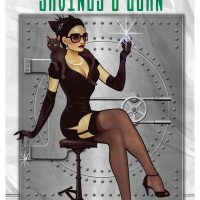 Catwoman DC Comics Bombshell Poster