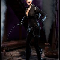 Catwoman Sixth Scale Figure with Whip