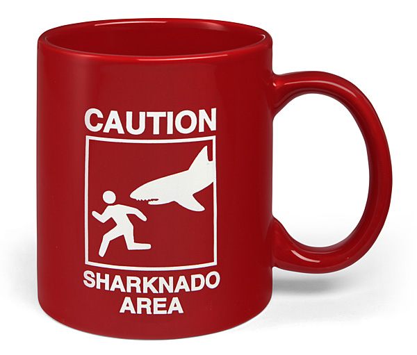 Caution Sharknado Area Mug