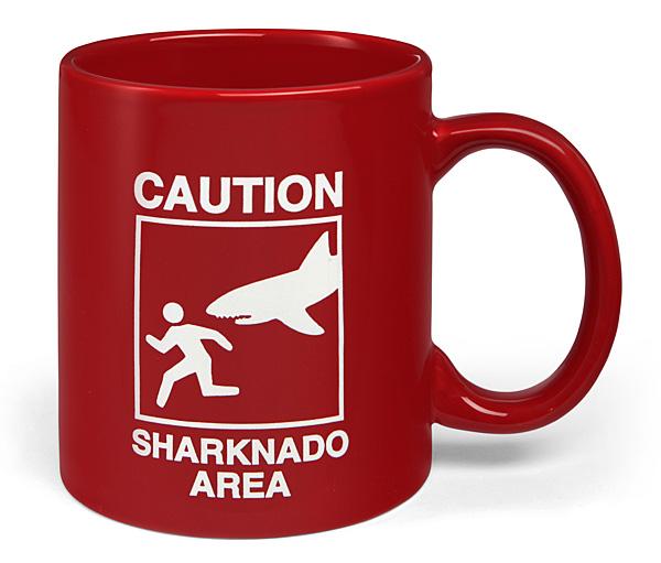 Caution Sharknado Area Mug