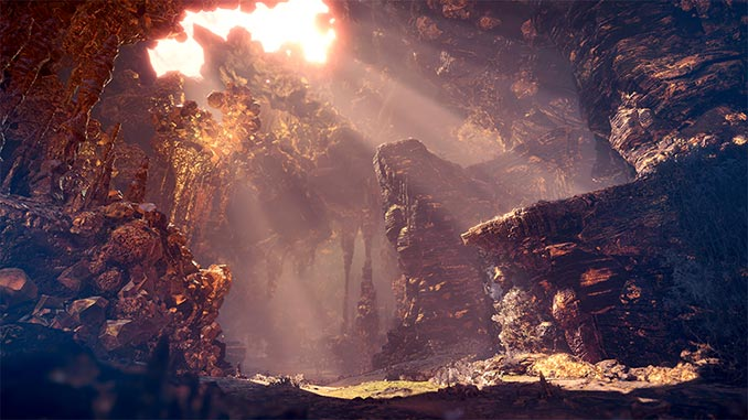 Monster Hunter World Caverns of El Dorado