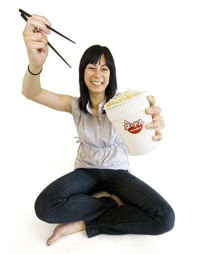 Ceramic Noodle Cup