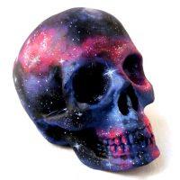 Ceramic Space Skull