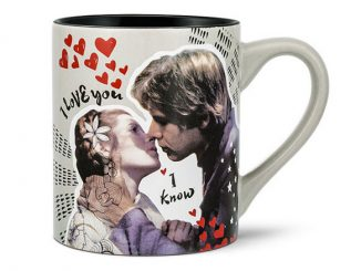 Ceramic Star Wars I Love You I Know Mug