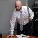 Chain Mail Aluminum Necktie