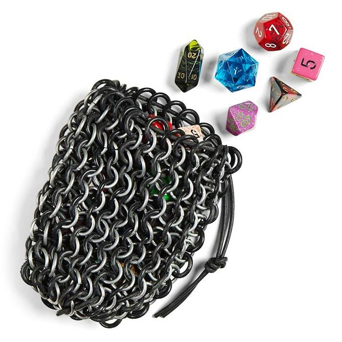 Chain Mail Gaming Dice Bag
