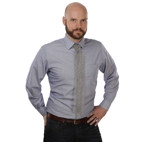 Chain Mail Necktie