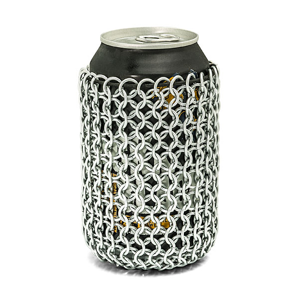 Chainmail Can Sleeve
