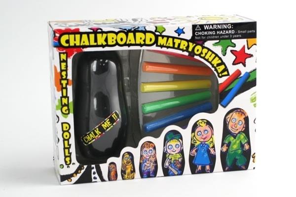 Chalkboard Matryoshka