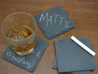 Chalkboard Slate Coasters
