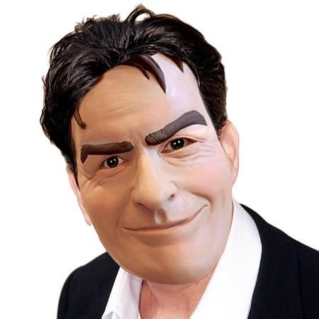 Charlie Sheen Mask