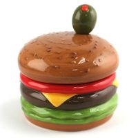 Cheeseburger Dip Bowl with Spreader