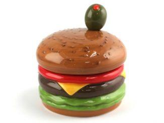 Cheeseburger Dip Bowl with Spreader