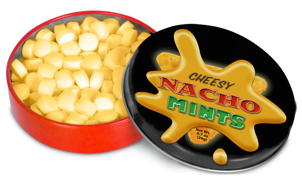 Cheesy Nacho Mints