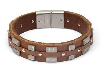 Chewbacca Bandolier Leather Bracelet
