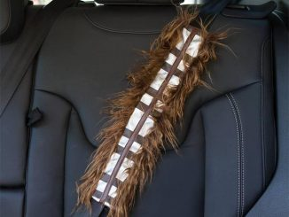 Chewbacca Car Seat Belt Cover