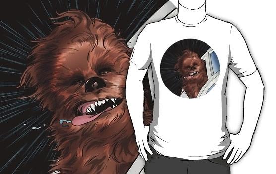 Chewbacca-Dog-Style-T-Shirt