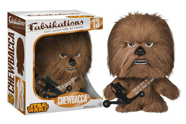 Chewbacca Fabrikations Plush Figure