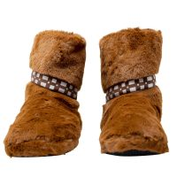 Chewbacca Fuzzy Slippers