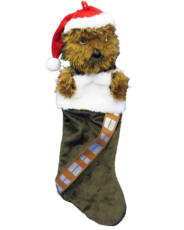 Chewbacca Plush Head Stocking
