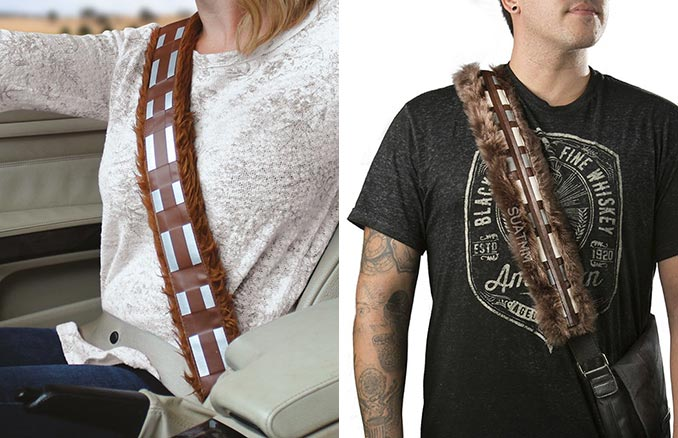 Chewbacca Seatbelt / Shoulder Strap Covers