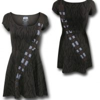 Chewbacca Skater Dress