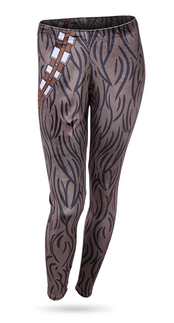 Chewbacca Velvet Leggings