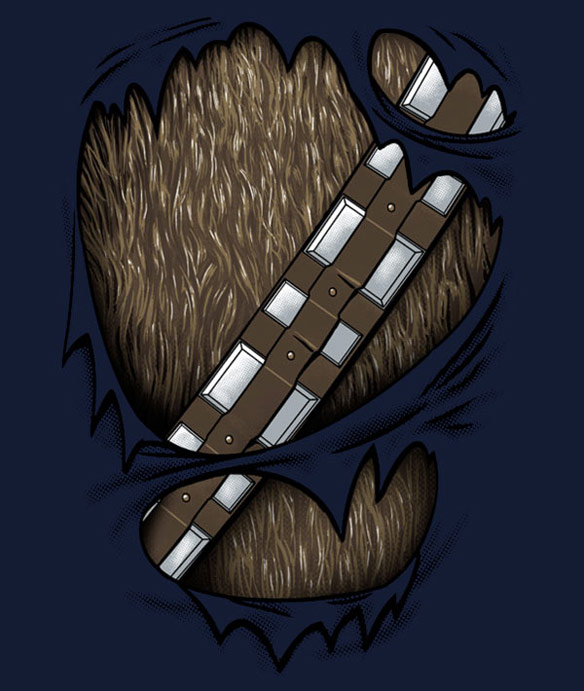 Chewbacca Wookieed Out Shirt