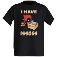 Chibi Deadpool I Have Issues TShirt