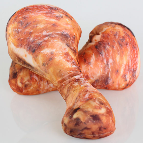Chicken Drumstick Pillows