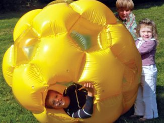 Child Piloted Tumbler