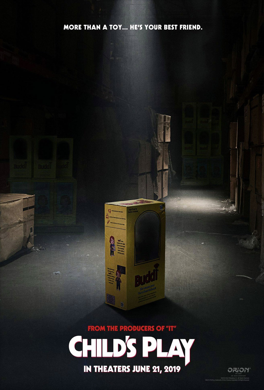 Movie Poster 2019: Child's Play (2019) Teaser Trailer