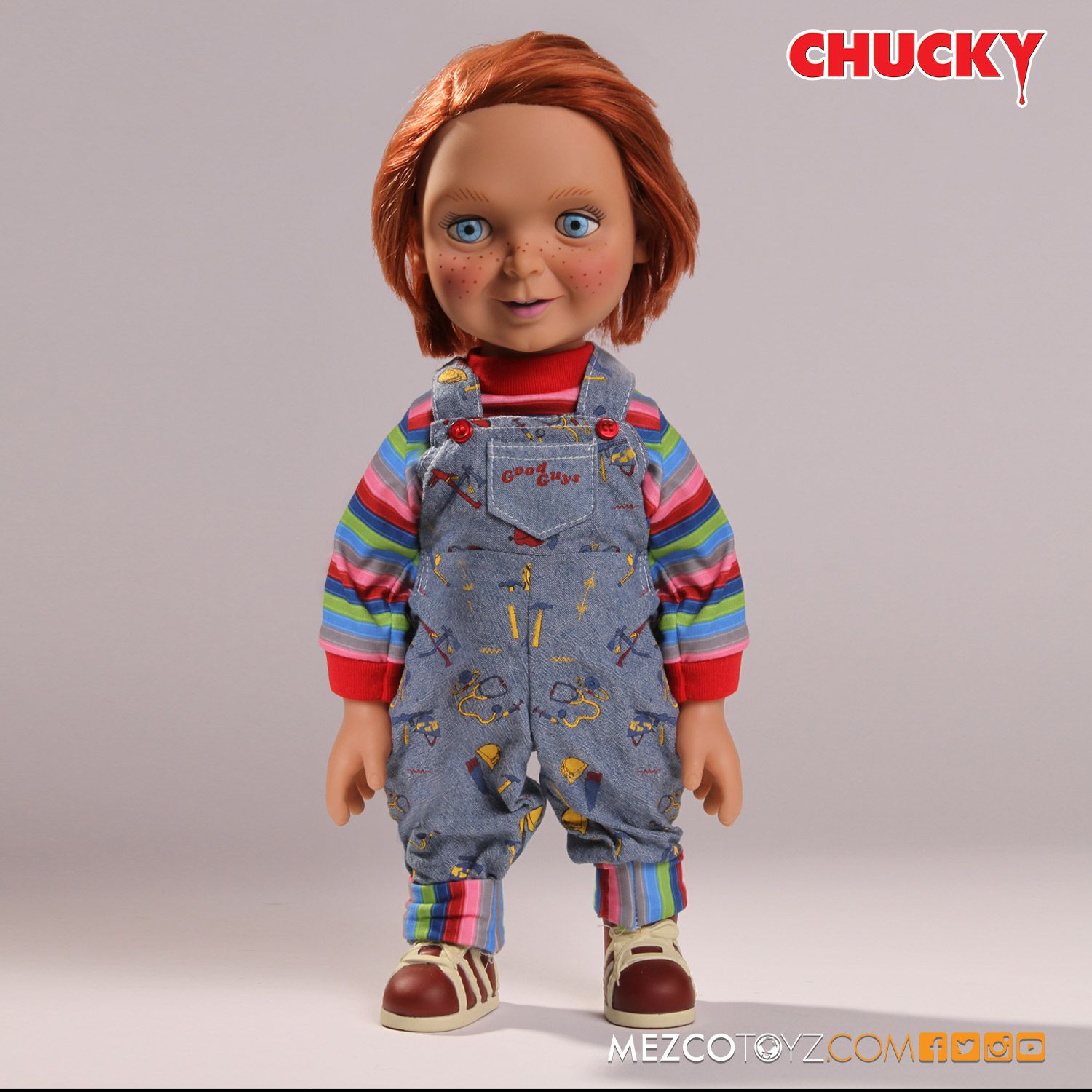 child play Chucky is a killer good guy doll, that had his soul transferred into the doll by using voodoo despite his small size, chucky has the strength of a full grown man on.