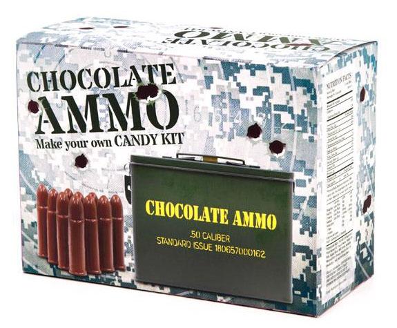 Chocolate Ammo Candy Making Kit