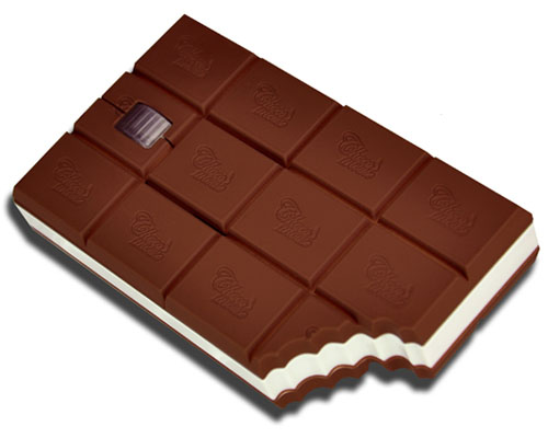Chocolate Bar Shaped Mouse