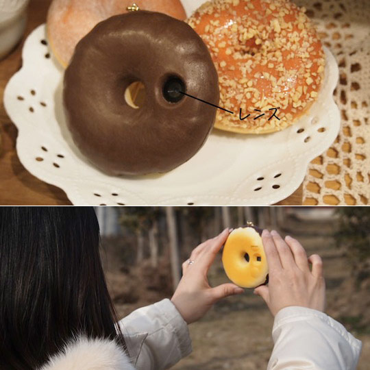 Chocolate Donut Camera