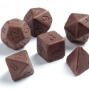 Chocolate Gaming Dice Set