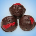 Chocolate Zombie Head Bon Bons