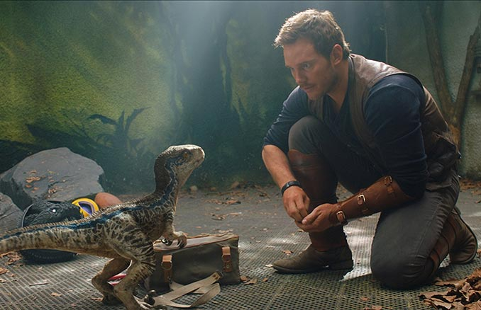 Chris Pratt Jurassic Journals