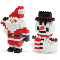 Christmas Nanoblocks Building Block Sets