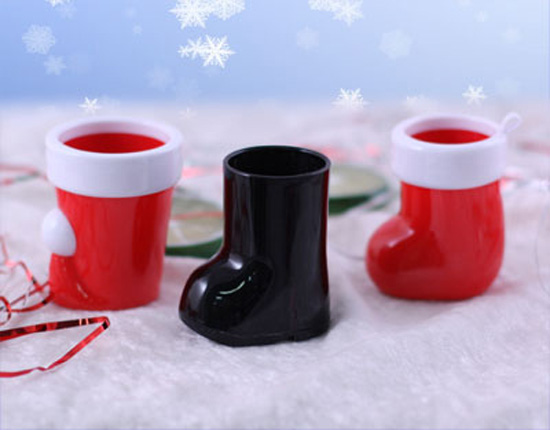 Christmas Shot Glass Set