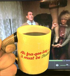 Christmas Story Leg Lamp Mug