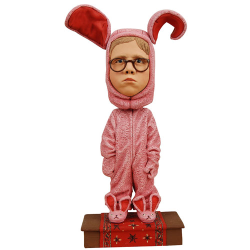 Christmas Story Ralphie Bunny Suit Bobble Head