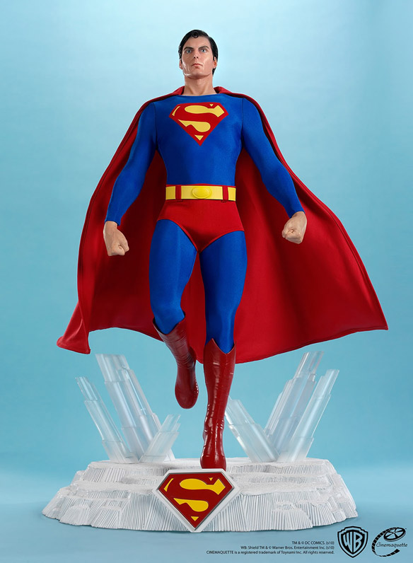 Christopher Reeve Superman Movie Maquette