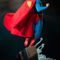 Christopher Reeve Superman Premium Format Figure Back Angle