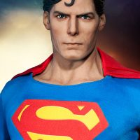 Christopher Reeve Superman Premium Format Figure Detail